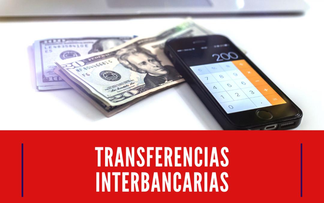¿Cómo hacer una transferencia interbancaria en línea?